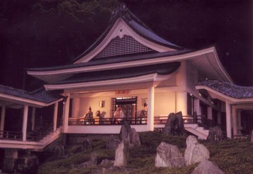 松尾大社 曲水の庭にて演奏