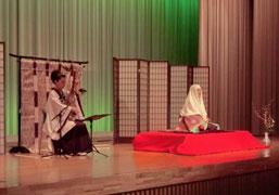 イメージ筑前琵琶・川村旭芳と六嶋由美子さんの共演